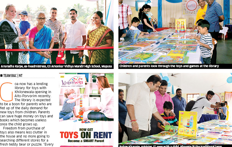 Time to Celebrate! Khilonewala Toy Library Opens Its New Centre in Goa, India